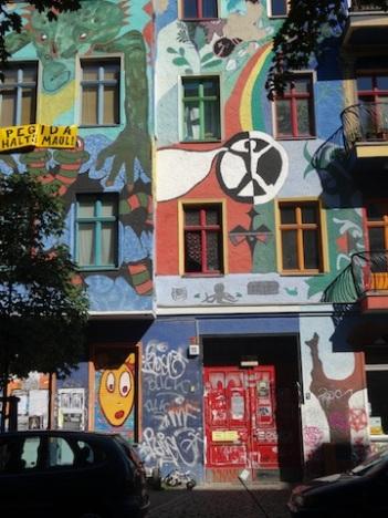 Berlin, Kreutzigzer Strasse Juillet 2015